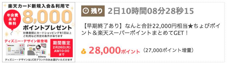 ちょびリッチ_楽天カード_180219_0